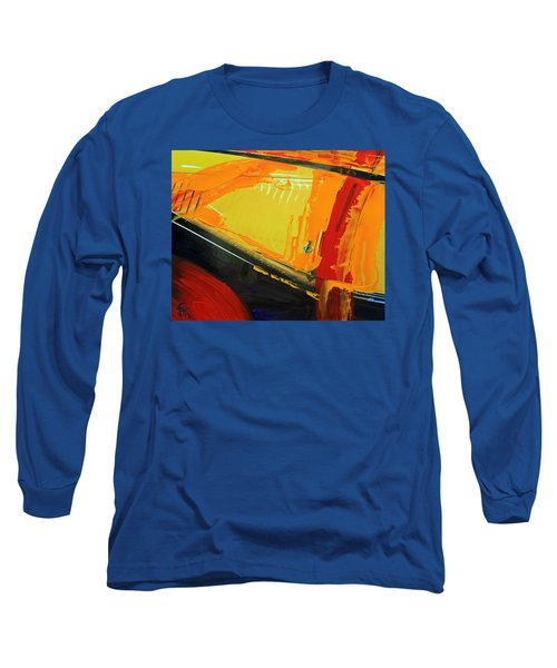 Abstract Composition No 2 Long Sleeve T-Shirt by Walter Fahmy