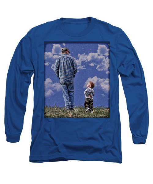 Long Sleeve T-Shirt featuring the photograph Back In The Day by Denise Romano