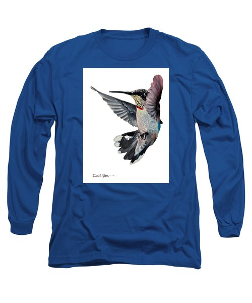 Da101 Backstroke By Daniel Adams Long Sleeve T-Shirt