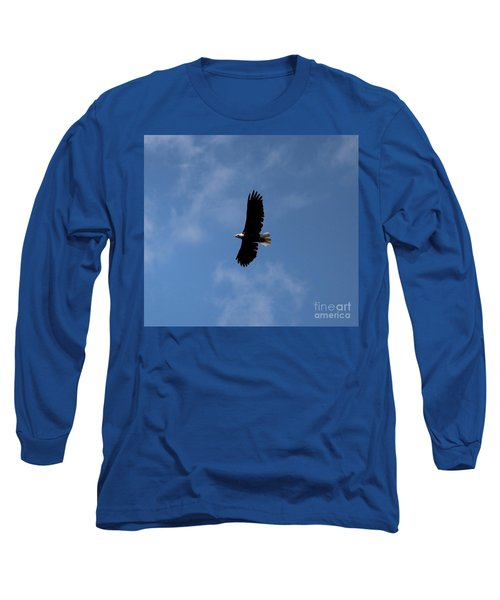 Long Sleeve T-Shirt featuring the photograph Bald Eagle by Ann E Robson