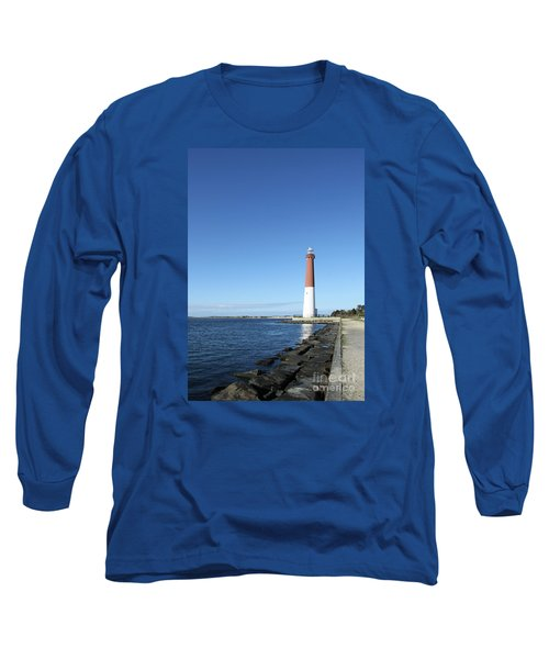 Barnegat Light - New Jersey Long Sleeve T-Shirt by Christiane Schulze Art And Photography