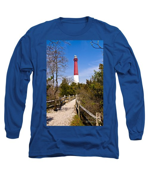 Barnegat Lighthouse II Long Sleeve T-Shirt by Anthony Sacco
