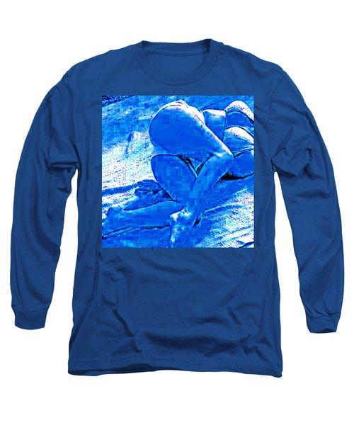 Bathing In Blu Light Long Sleeve T-Shirt