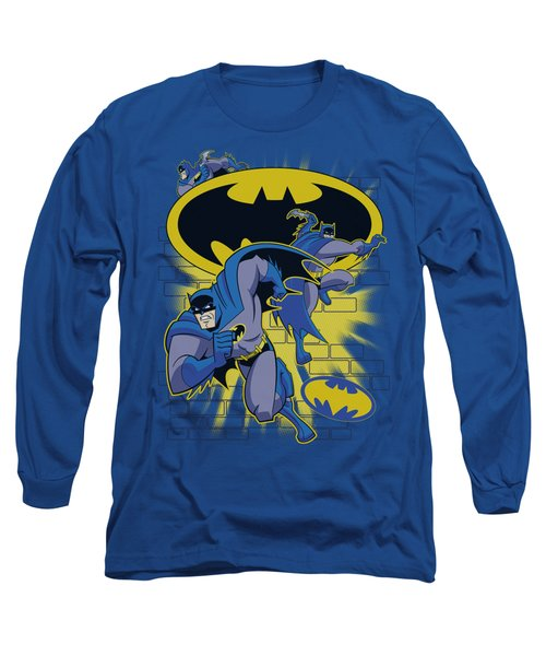 Batman Bb - Action Collage Long Sleeve T-Shirt