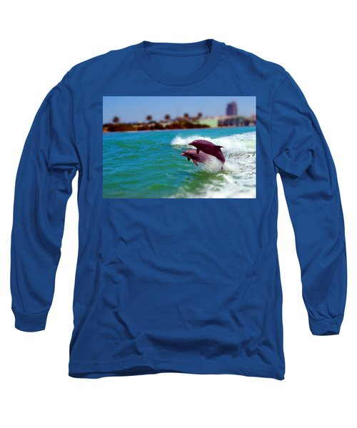 Bay Dolphins Long Sleeve T-Shirt