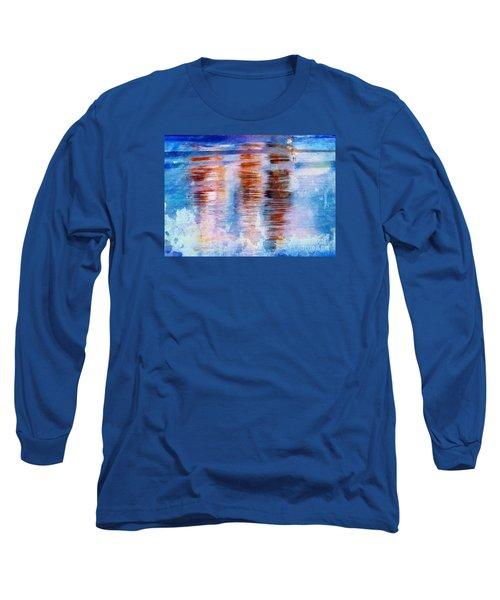 Beach Colors Long Sleeve T-Shirt by Marcia Lee Jones