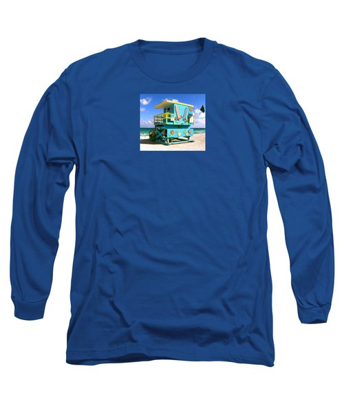 Beach Life In Miami Beach Long Sleeve T-Shirt