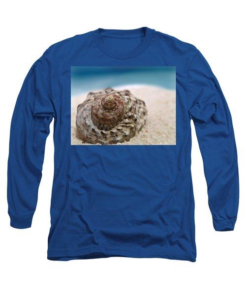 Beach Treasure Long Sleeve T-Shirt by Micki Findlay