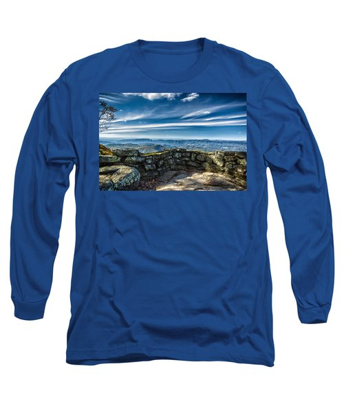 Beautiful View Of Mountains And Sky Long Sleeve T-Shirt
