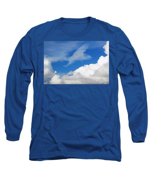 Behind The Clouds Long Sleeve T-Shirt by Susan Wiedmann