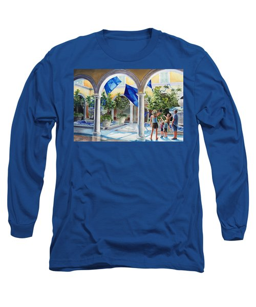 Bellagio Kite Flight Long Sleeve T-Shirt