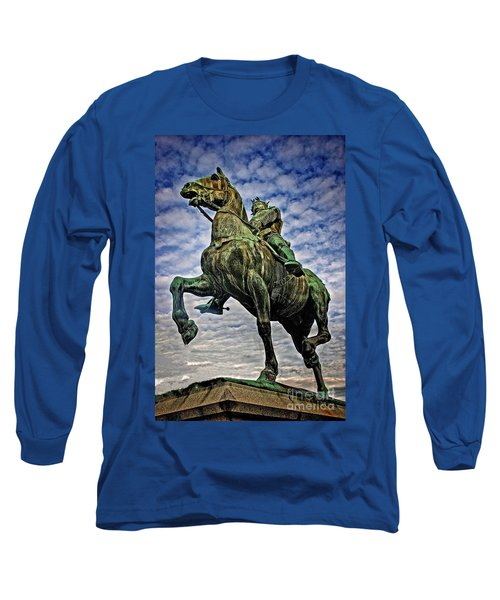 Long Sleeve T-Shirt featuring the photograph Bertrand Du Guesclin by Elf Evans