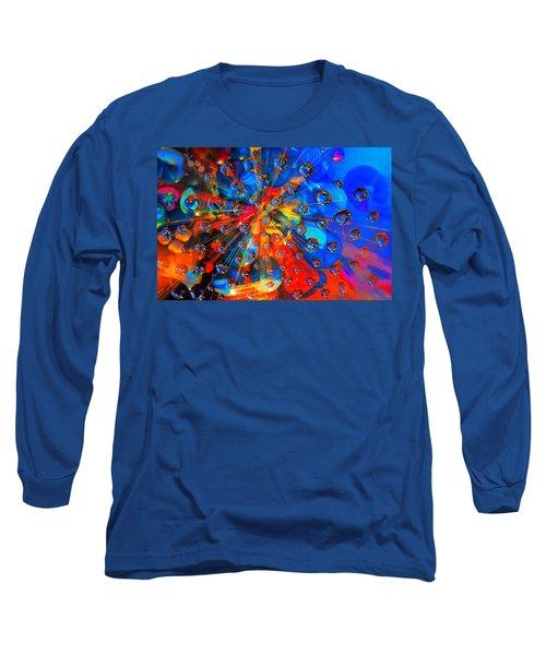 Big Bang Long Sleeve T-Shirt by Rick Mosher