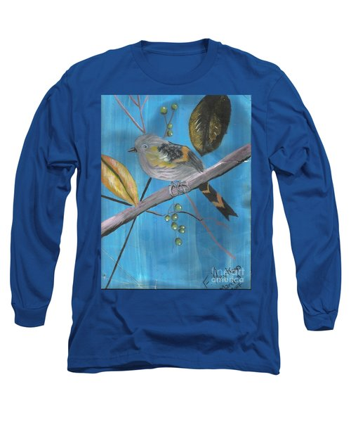 Bird On A Branch  Long Sleeve T-Shirt