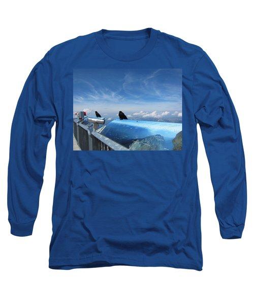 Long Sleeve T-Shirt featuring the photograph Bird Watch by Pema Hou
