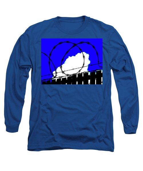 Black Barb Long Sleeve T-Shirt