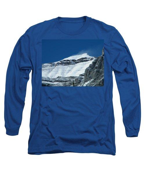 Blowing Snow Long Sleeve T-Shirt
