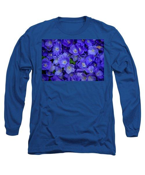 Blue Bells Carpet. Amsterdam Floral Market Long Sleeve T-Shirt