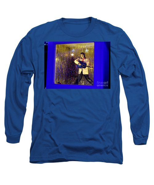 Blue Christmas Without Elvis Long Sleeve T-Shirt