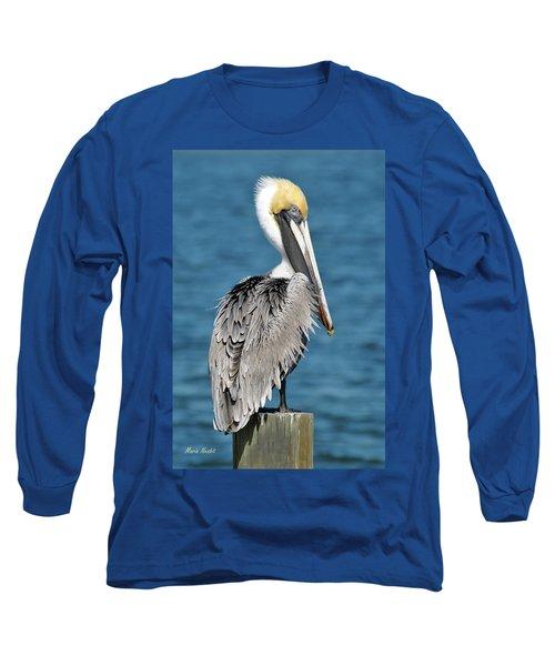 Blue Eyed Blondie Long Sleeve T-Shirt