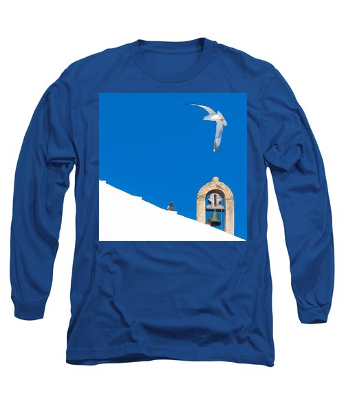 Blue Gull Long Sleeve T-Shirt