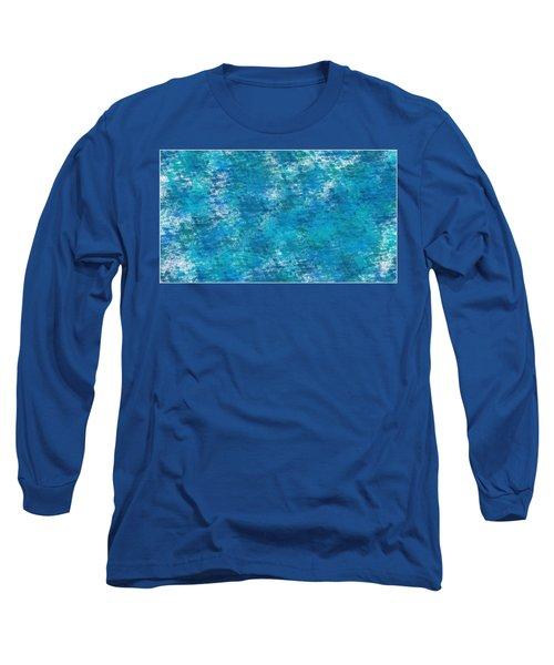 Long Sleeve T-Shirt featuring the digital art Blue Haze... by Tim Fillingim