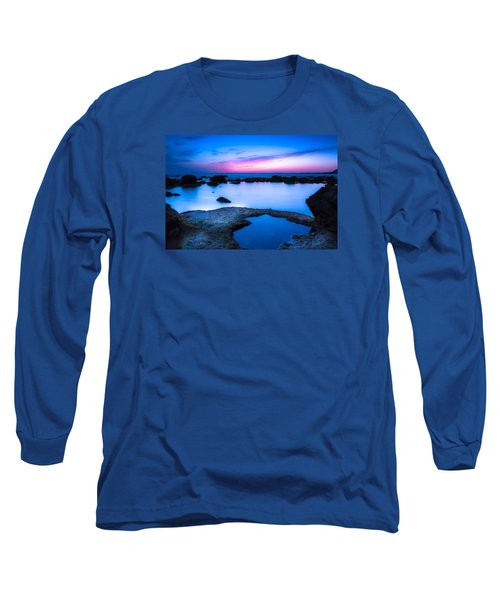 Long Sleeve T-Shirt featuring the photograph Blue Hour by Edgar Laureano