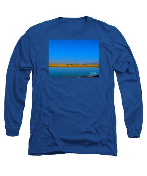 Blue Meets Blue Long Sleeve T-Shirt