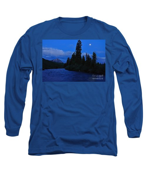 Blue Missing You Long Sleeve T-Shirt