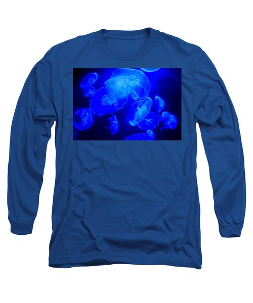 Blue Moon Jellies Long Sleeve T-Shirt