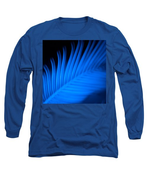 Blue Palm Long Sleeve T-Shirt