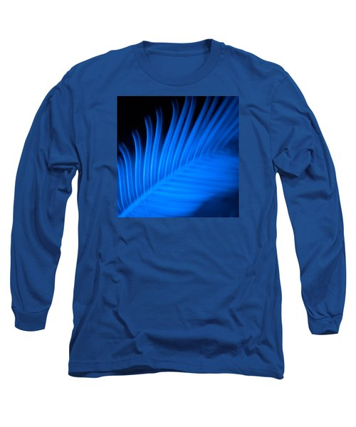 Blue Palm Long Sleeve T-Shirt
