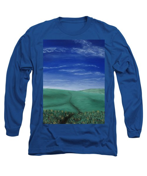 Blue Skies Ahead Long Sleeve T-Shirt