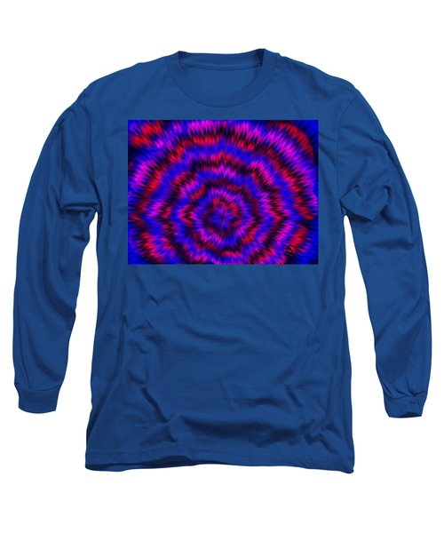Blue Super Nova Long Sleeve T-Shirt