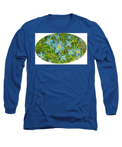 Bluets Of The Shenandoah  Long Sleeve T-Shirt
