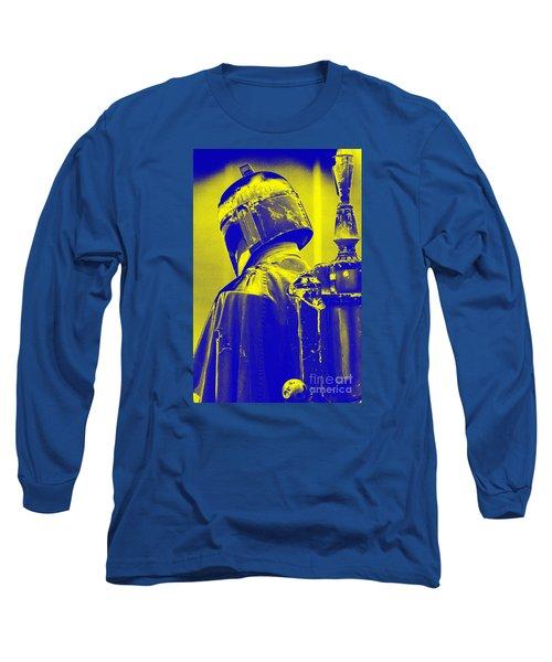 Boba Fett Costume 1 Long Sleeve T-Shirt by Micah May