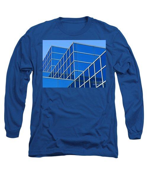 Boldly Blue Long Sleeve T-Shirt by Ann Horn