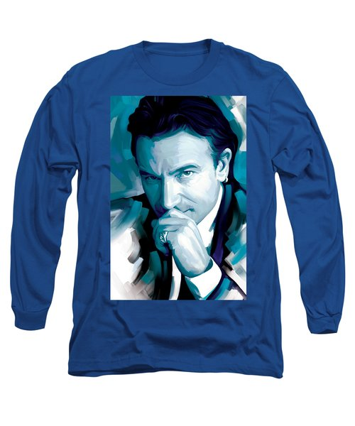 Bono U2 Artwork 4 Long Sleeve T-Shirt by Sheraz A