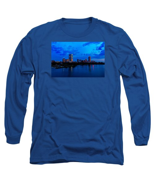 Boston Evening Long Sleeve T-Shirt by Rick Berk