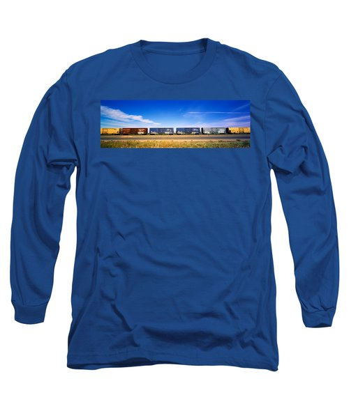 Boxcars Railroad Ca Long Sleeve T-Shirt