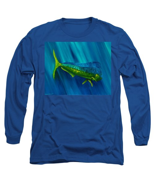 Bull Dolphin Long Sleeve T-Shirt