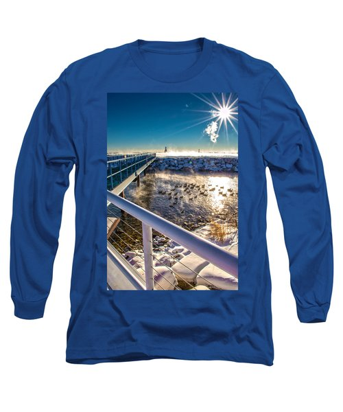 Burst Of Life Long Sleeve T-Shirt