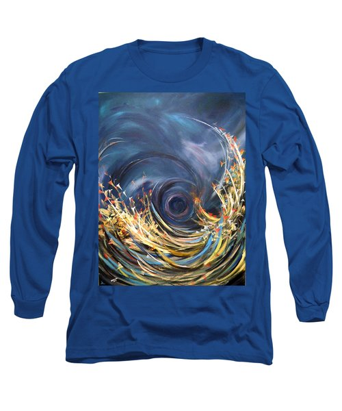Long Sleeve T-Shirt featuring the painting Butterflies Migration by Dorothy Maier