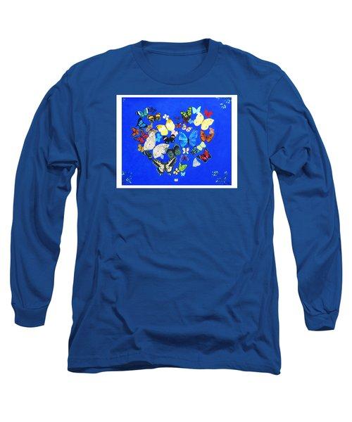 Butterfly Heart Long Sleeve T-Shirt