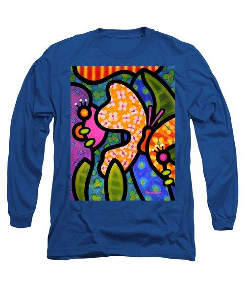 Butterfly Jungle Long Sleeve T-Shirt