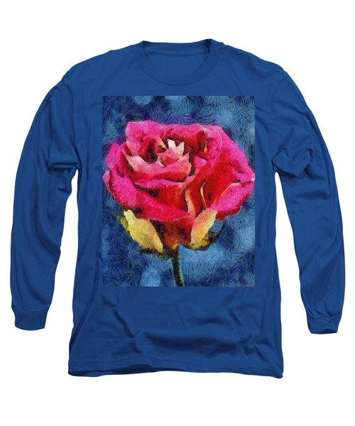 Long Sleeve T-Shirt featuring the digital art By Any Other Name by Joe Misrasi