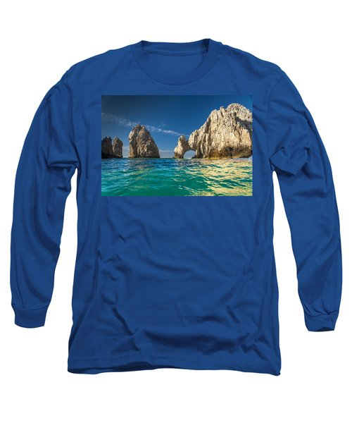 Cabo San Lucas Long Sleeve T-Shirt by Sebastian Musial