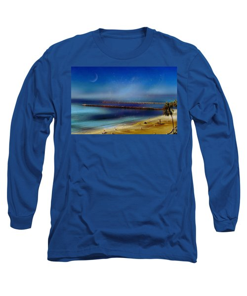 California Dreaming Long Sleeve T-Shirt by Tammy Espino