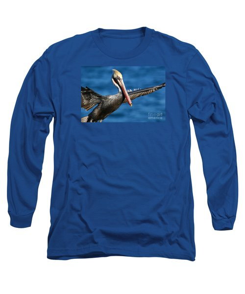 Freedom In Blue Long Sleeve T-Shirt