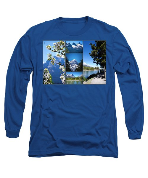 Canmore Alberta Long Sleeve T-Shirt